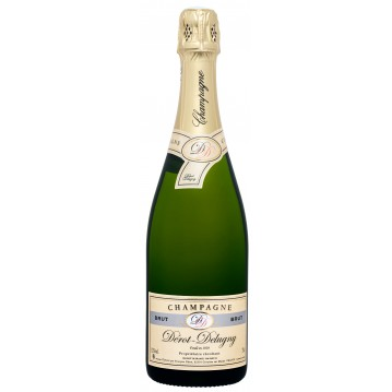 Champagne brut Coiffe D'or Dérot Delugny