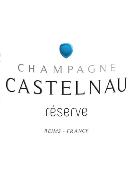 Etiquette réserve Castelnau