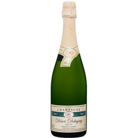 Champagne sec Dérot Delugny
