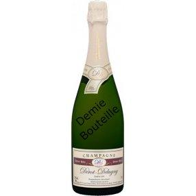 Demi-sec demi bouteille champagne dérot Delugny