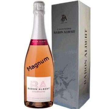 Magnum l'Enchanteresse champagne rosé...