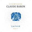SAPHIR CHAMPAGNE BRUT CLAUDE BARON medaille argent